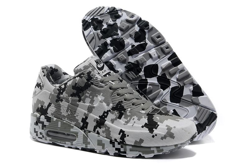 wholesale dealer 4f2f8 c1467 purchase chaussures nike air max 90 vt hommes femmes 2013 camouflage new  black gray