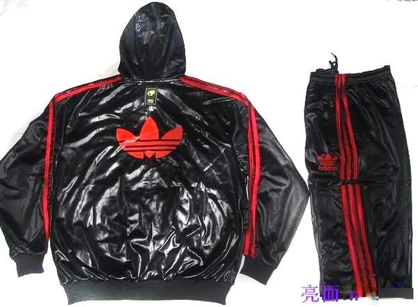 Veste adidas original noir et rouge