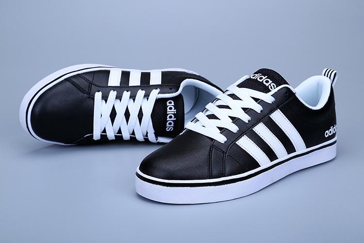 super popular f3f7b f875b Adidas Neo Black Leather ...