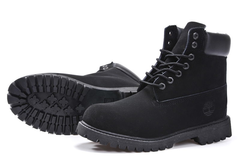 timberland noir homme promo
