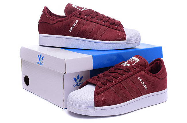9b3a85ffe997f 2015 Rouge Adidas Superstar Training Fille Rose Chaussures basket q07nzg.