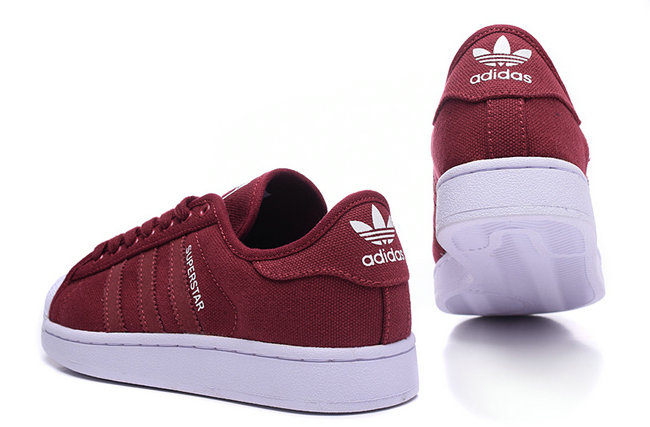 adidas femme chaussure rouge