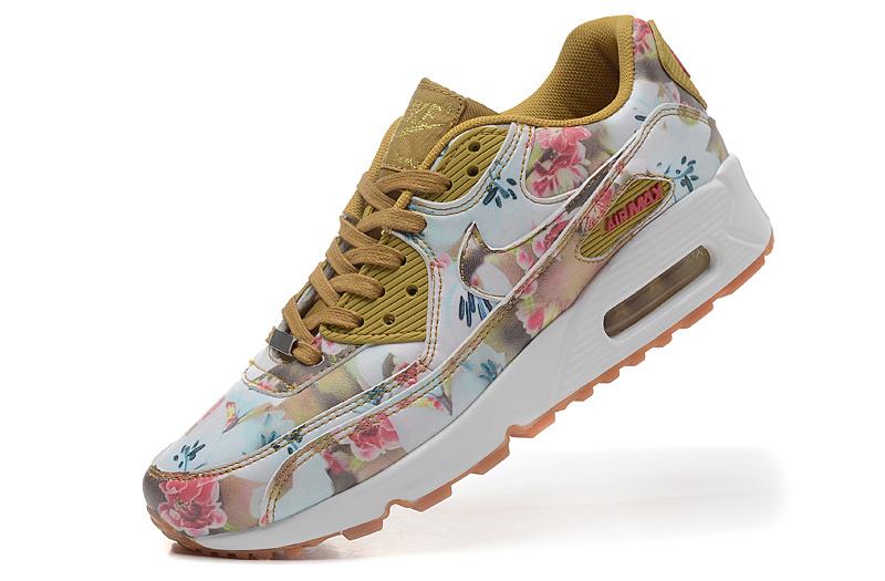 newest ce7c4 c7d70 femmes nike air max 90 gris chaussures freshwate running ville fleur milan