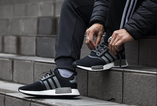 originals technology nmd sneaker black adidas chaussures Yyf6b7g