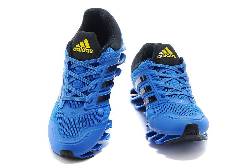 adidas springblade chaussures de tennis asics pas cher super bleu noir de eur 57. Black Bedroom Furniture Sets. Home Design Ideas