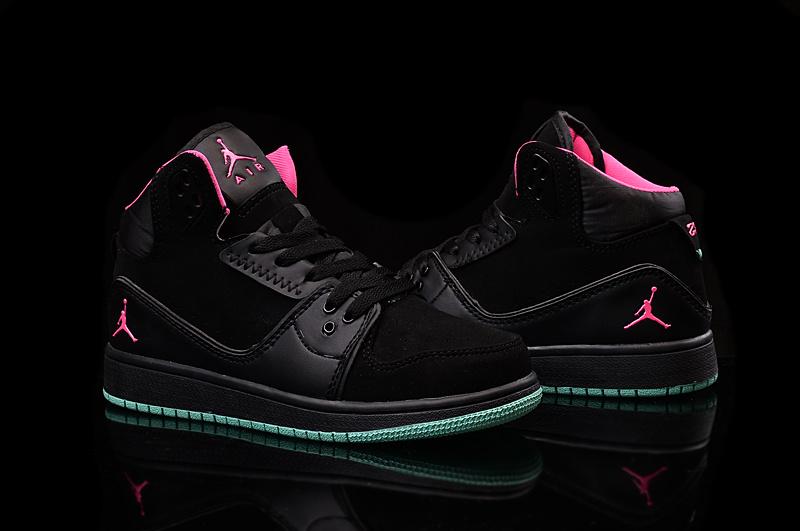 livraison gratuite aa10a ae283 air jordan 1 jd brand team femmes chaussures brand inside pink