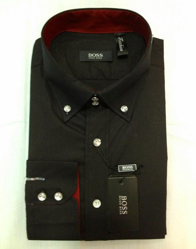 Boss chemise a carreaux homme style coton 2132 noir vente privee chemise hugo - Coton doux vente privee ...