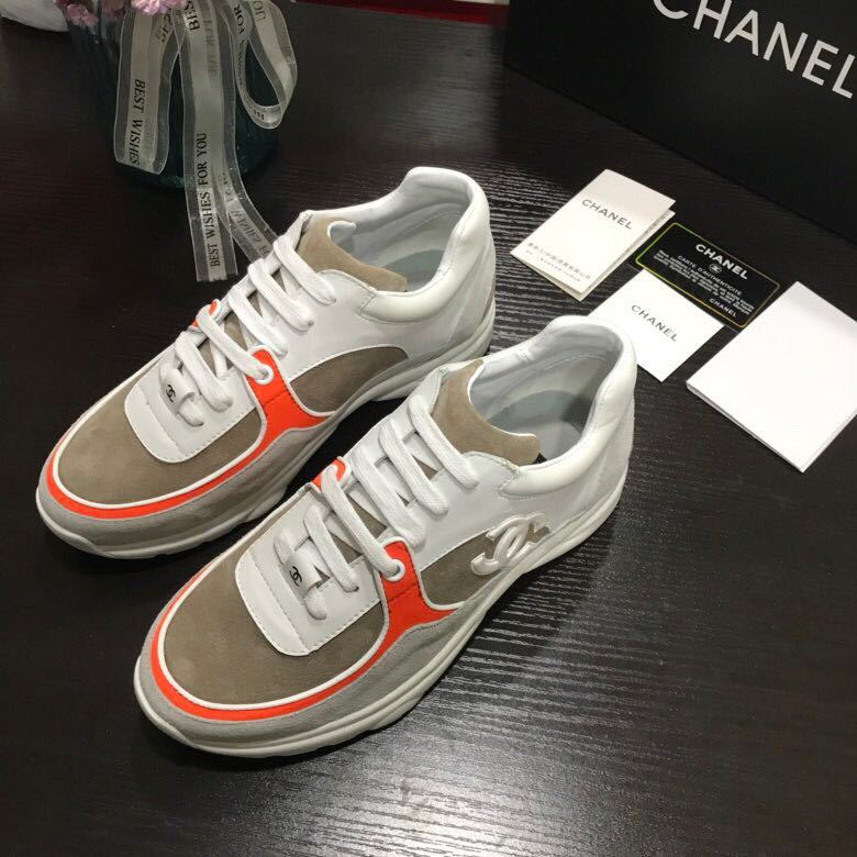 2bcd14a7ec8a chaussure chanel femme basket prix leisure sports running chaussures orange