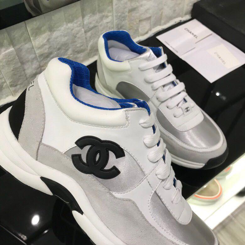 3f77a2e35ba chaussure chanel femme basket prix leisure sports chaussures blue de ...