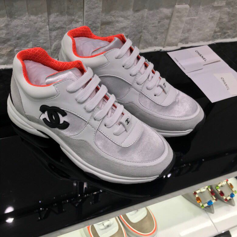 7f3f055875c chaussure chanel femme basket prix leisure sports chaussures orange ...
