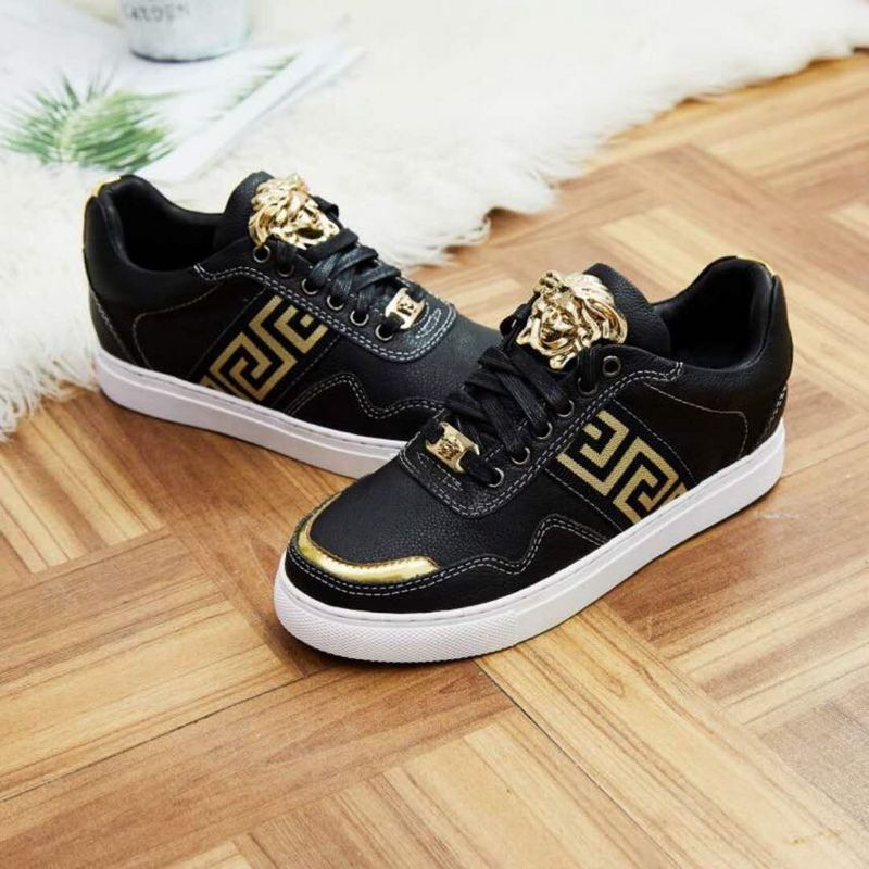 1b99ee3f683 ... chaussure versace sneakers gold medusa ...