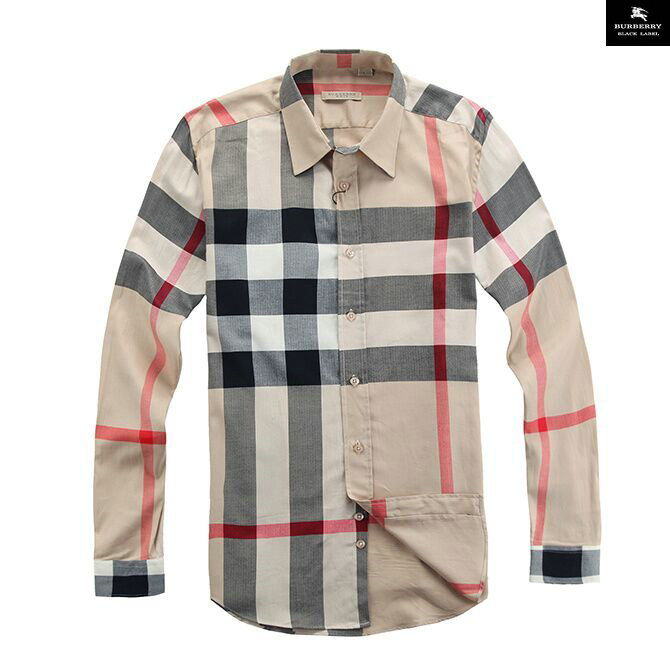 8a6ce0cdd49 chemise burberry multicolour cotton shirt grande grille cream de ...