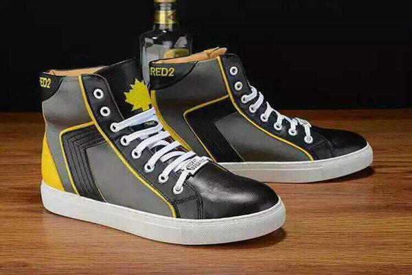 Super Comparer chaussures dsquared, Grise, Blanche Homme Baskets ... ea1476045f3