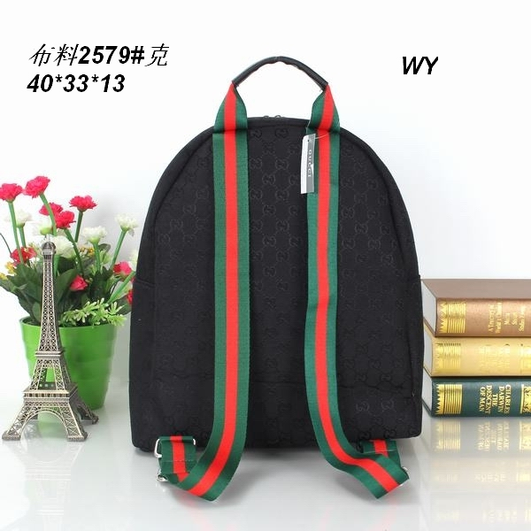 f990767b951 gucci backpack sac for school italy cloth black w40h33d13