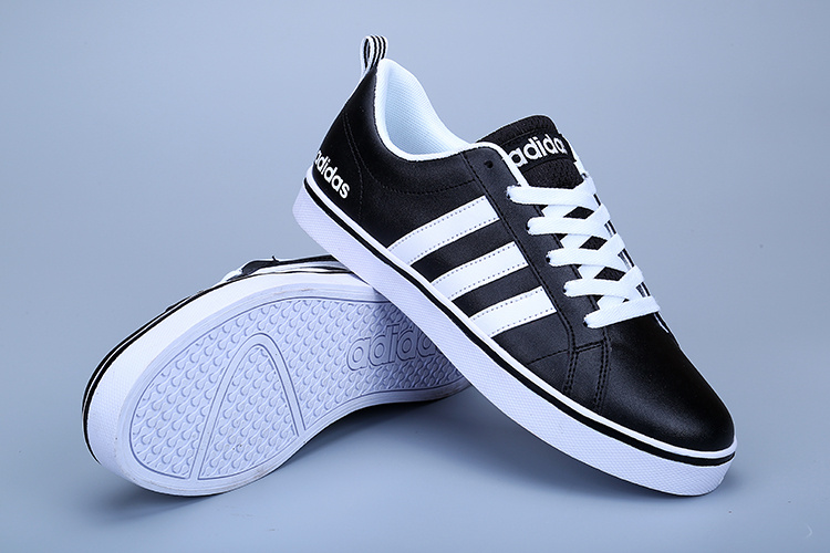 39dc1256a86b low adidas neo hommes tennis chaussures leather black de  adidas ...