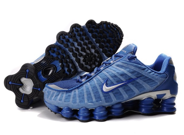 new concept 05405 a0ff9 ... nike shox tl1 hommes ns-03-blue sivler,chaussures shox tl pas cher