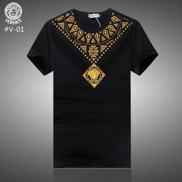homme t shirt versace tee shirt short versace versace m x xl xxl. Black Bedroom Furniture Sets. Home Design Ideas