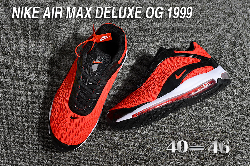 reputable site ea012 73541 Chaussures Deluxe Max 2018 1999 Nike De Cool Air Hommes Red xBpAqFn