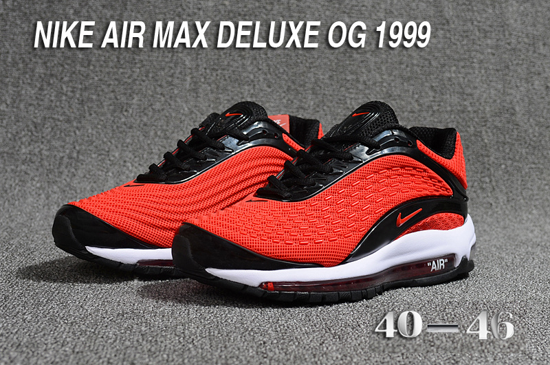 Air 1999 Red De Chaussures 2018 Hommes Deluxe Max Cool Nike 8WSxzqzYn5