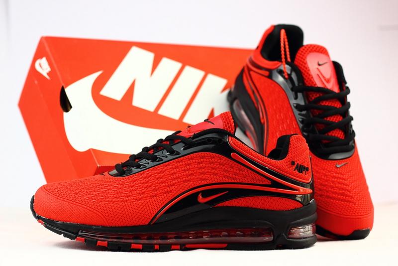 wholesale dealer 8a313 ea869 hommes nike air max deluxe chaussures 2018 nike 1999 rouge noir
