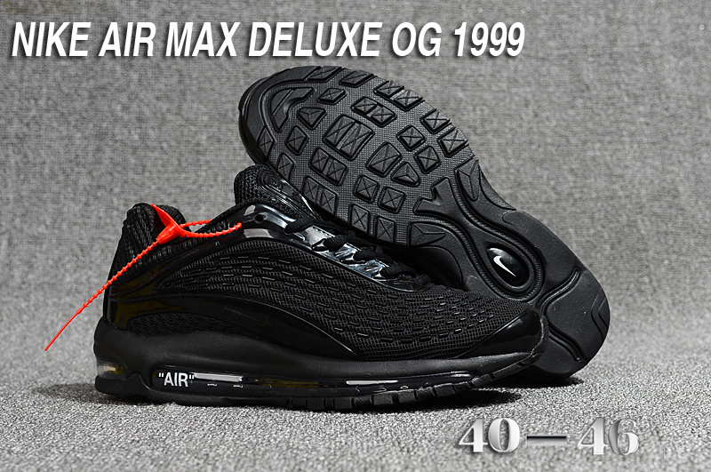 wholesale dealer 12169 3566b hommes nike air max deluxe chaussures 2018 nike 1999 star black