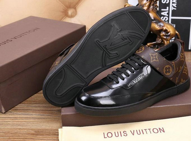 hommes chaussures louis vuitton 2016 patent leather