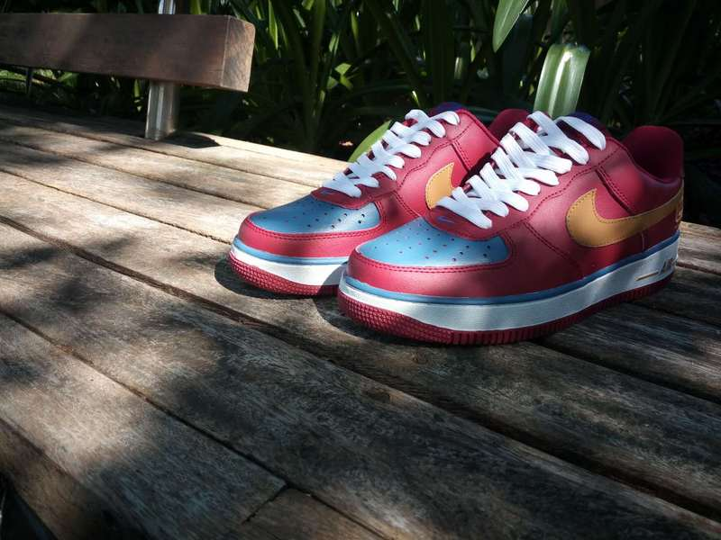 8cb024190d53f nike air force 1 amazon blue plum red de <nike air force one> - EUR 62