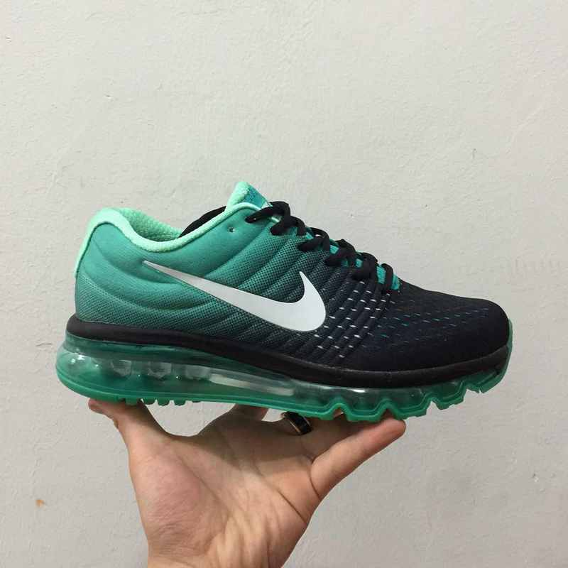 ... nike air max 2017 classic running chaussures flagship 2017 green moon