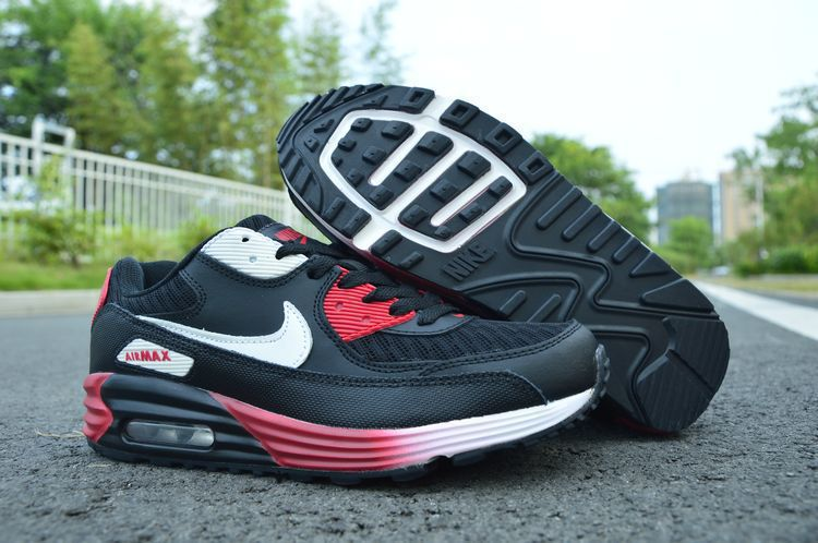outlet store 580f9 d7ab9 nike air max 90 infrared femme chaussure fleur noir classic red