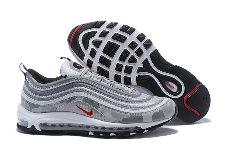 Nike Air Max 97 Premium Camo Gray Off White Air Max 97 On Feet