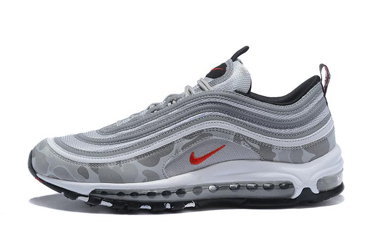 sports shoes aedf5 d5c2f nike air max 97 premium camo gray,off white air max 97 on feet