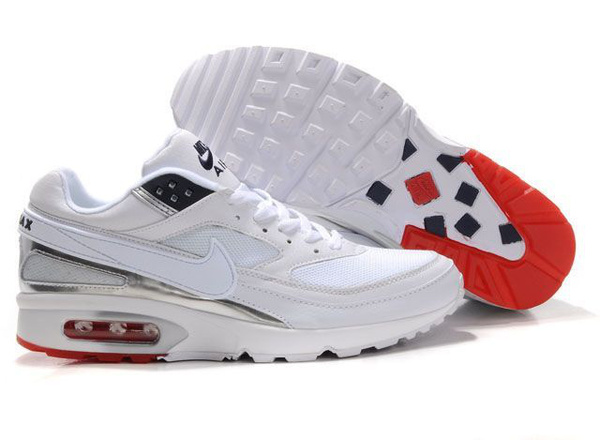 san francisco 537a6 9a051 nike air max bw hommes chaussures sport blance hot taille 41-46 sport  blance basket