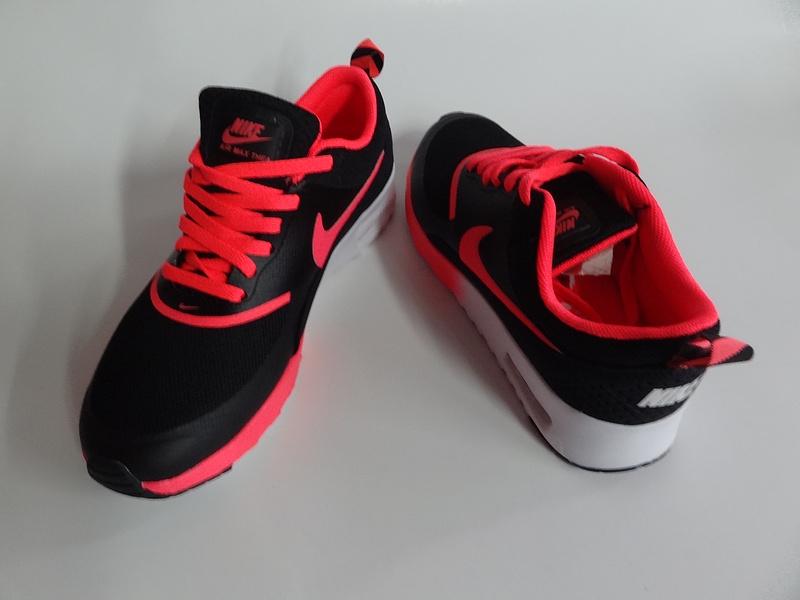 nike air max femmes 2014 modeles explosion mode bon marche glissent sport  noir rouge bdc64516867b