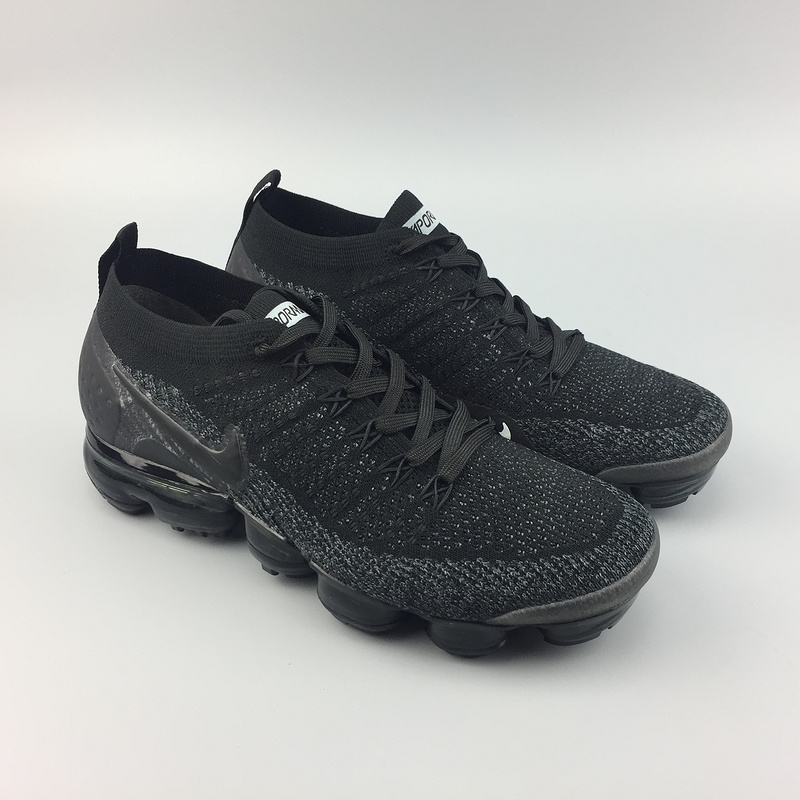 8e2e1dc8d8add nike air vapormax flyknit 2 all black 942842-012
