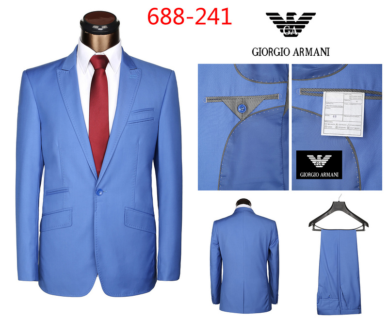 costume armani bleu marine costume 3 pieces bleu marine. Black Bedroom Furniture Sets. Home Design Ideas