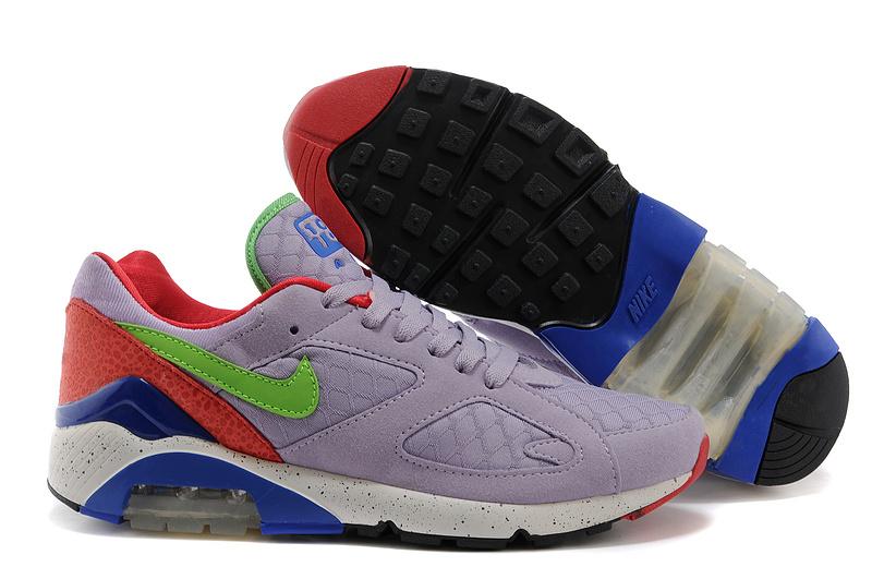 best sneakers d751b 47068 ... nouveau Nike Air Max 180 haute qualite jogging homme pas cher Gris Vert