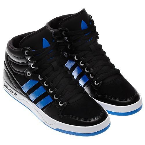 adidas bleu noir