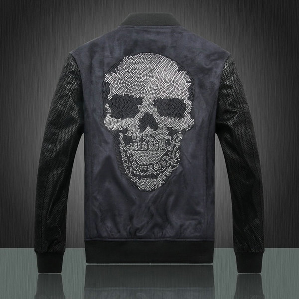 philipp plein veste femmes hommes new items big skull logo de eur 90. Black Bedroom Furniture Sets. Home Design Ideas