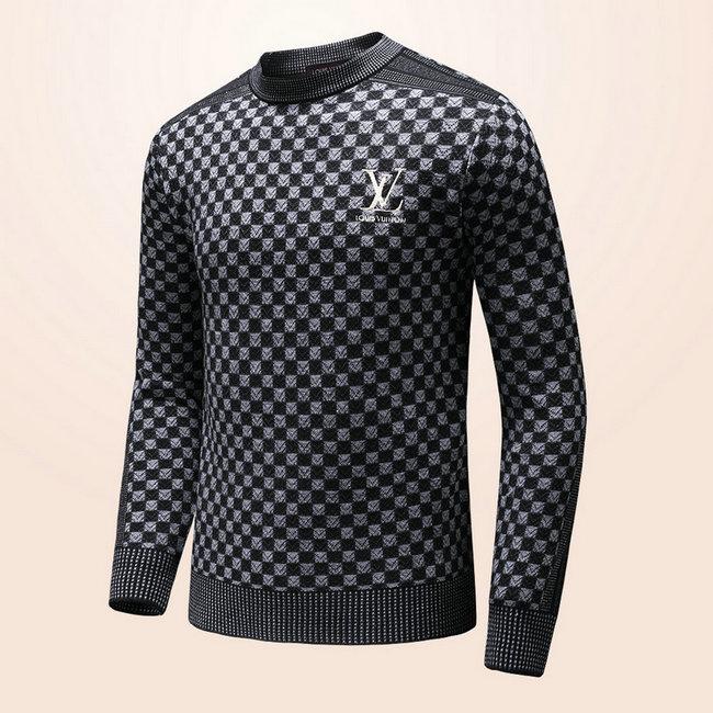 5db4bc454de ... pull louis vuitton nouvelle collection hauts lattice keep warm black