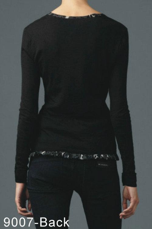 e6396548e4df7 pulls maille femme burberry pas cher new b9007-black de  Burberry ...