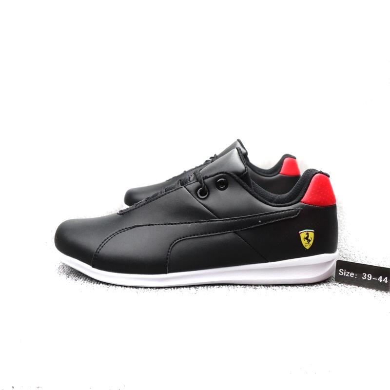 super cute ca067 e8b84 puma ferrari driving chaussures black