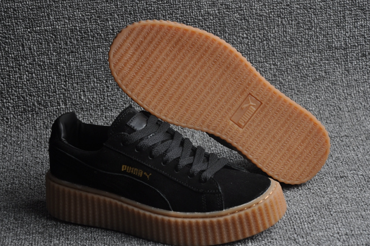 Rihanna Kaki Jaune Puma Chaussures La De Collection CEQdxoWrBe