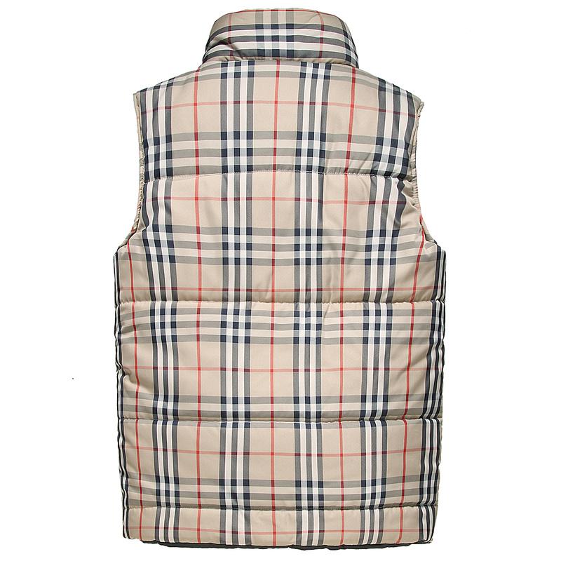 aa9d70397e90 sans manches hommes burberry veste chaud nouvelle tendance italie wedhs