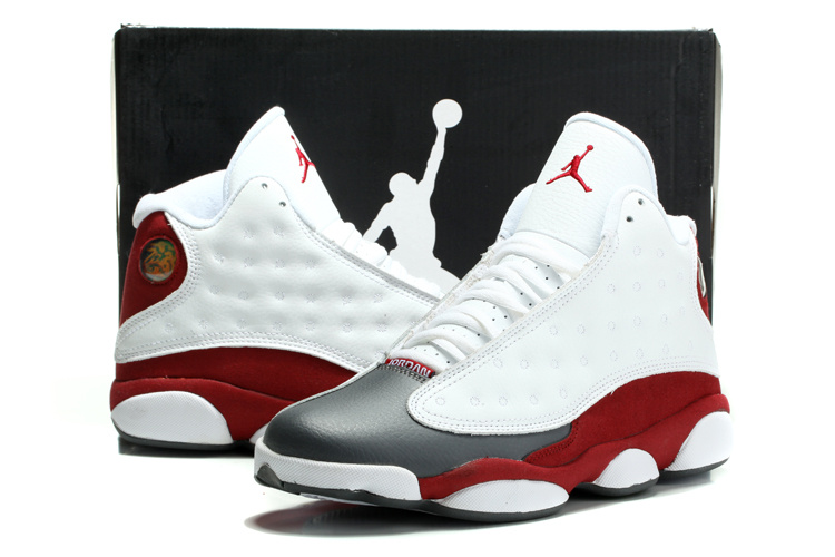 jordan air jordan 13 retro blanc/rouge