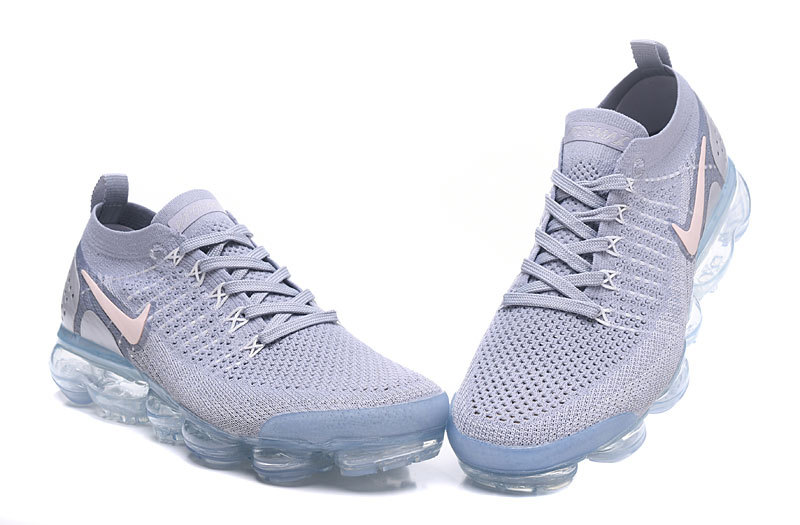 official photos ee967 76b98 chaussures nike hommes air vapormax flyknit 2 femmes trainers white  gray942843-1089