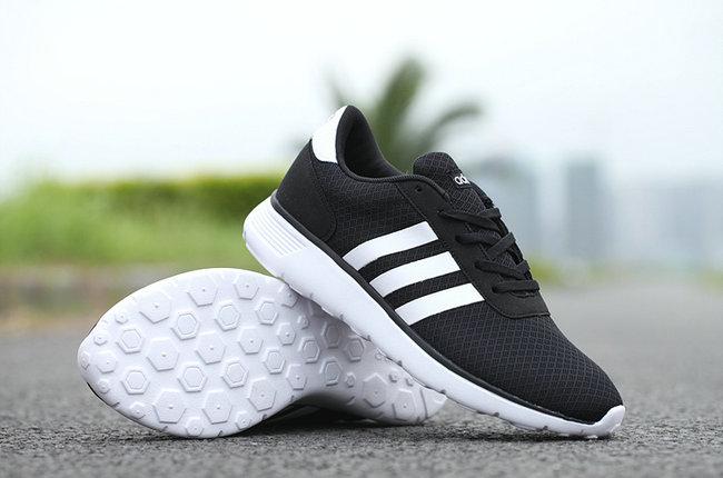 49cef882ee52 chaussures sport neo adidas white black