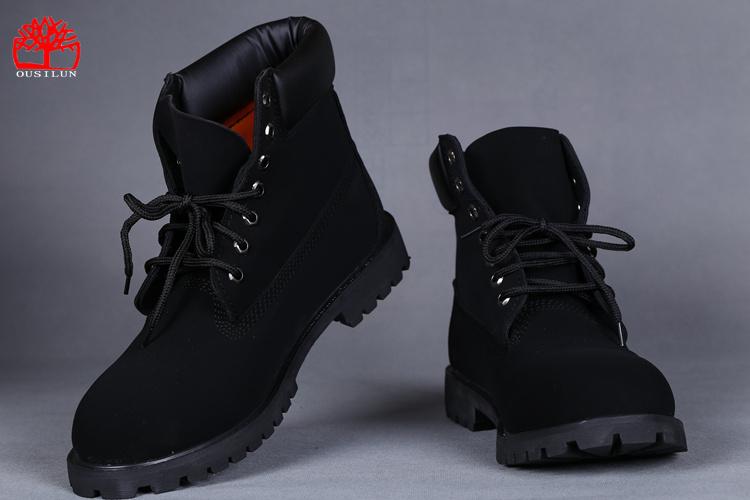 chaussures timberland femmes vente promo slip waterproof noir