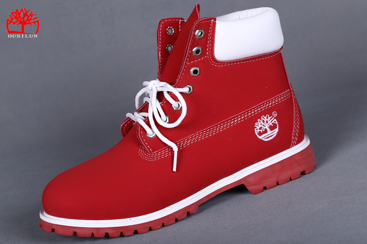 e72d2aed19f57b timberland femme boots rouge
