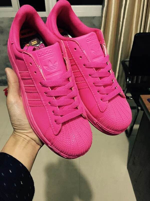 Superstar Adidas Rose Fluo