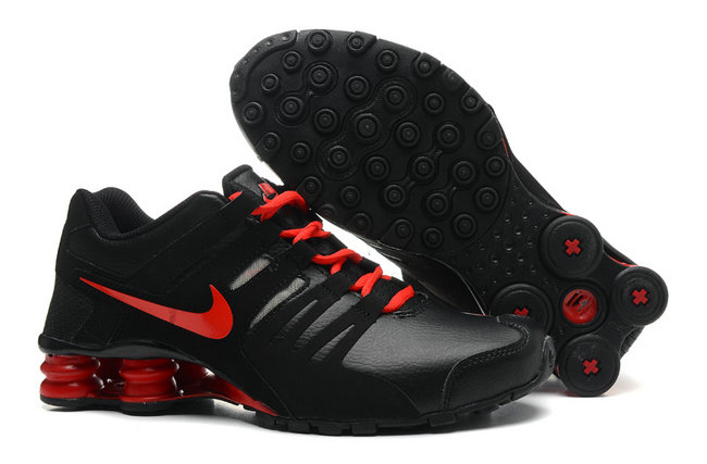 low priced 9b046 705eb 16.99EUR, shox current team nike chaussures fashion hommes noir et  rouge,shox requin tn 25